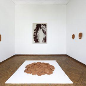Vista de la exposición Coraza, de Lucía Pizzani, en la Fundación Marso, Ciudad de México, 2019. Foto: Raúl Raya. Cortesía Fundación Marso