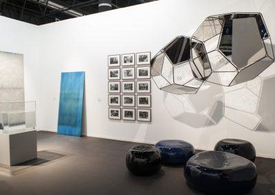 Stand de la galería Esther Schipper en Feria ARCOmadrid, 2019. Foto: Mariella Sola