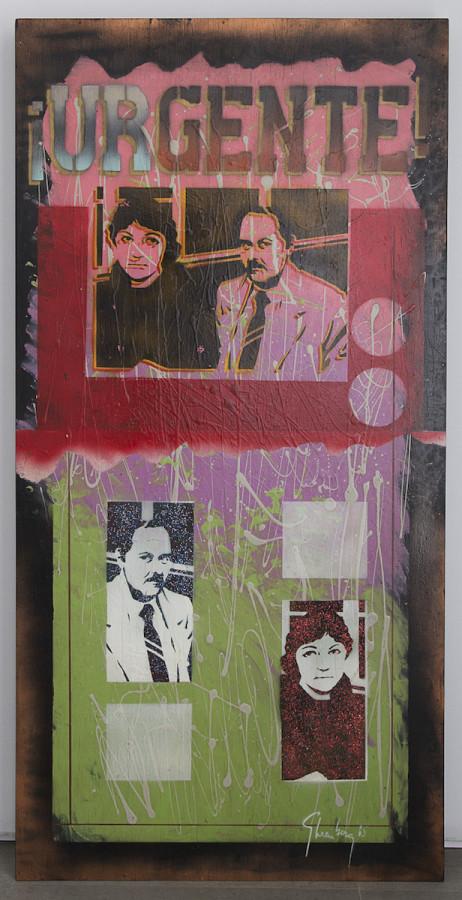 Felipe Ehrenberg, In the usual order (Social page), 1985. Cortesía: Freijo Gallery. Art Paris 2019