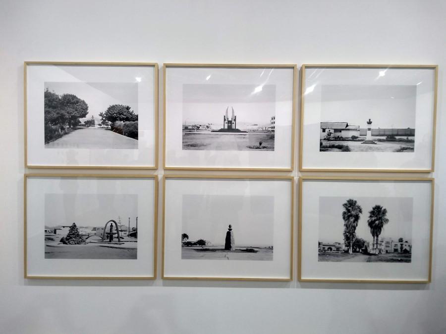 Fotografías de Juan Enrique Bedoya en la sección Perú en ARCO, 2019. Foto: Alejandra Villasmil