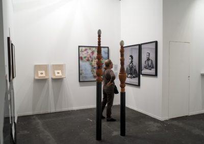 Stand de la galería mor charpentier, París, en ARCOmadrid, 2019. Foto: Mariella Sola