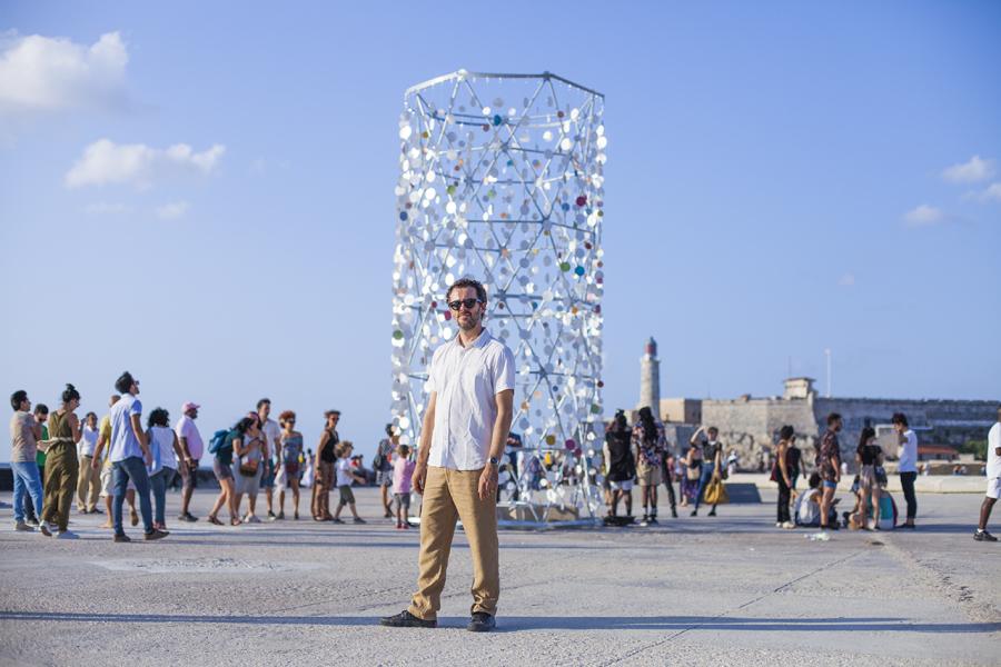 Un invisible faro, de Benjamín Ossa. 13° Bienal de La Habana, 2019. Foto: Cristián Aninat. Cortesía: Fundación Colección Ca.Sa