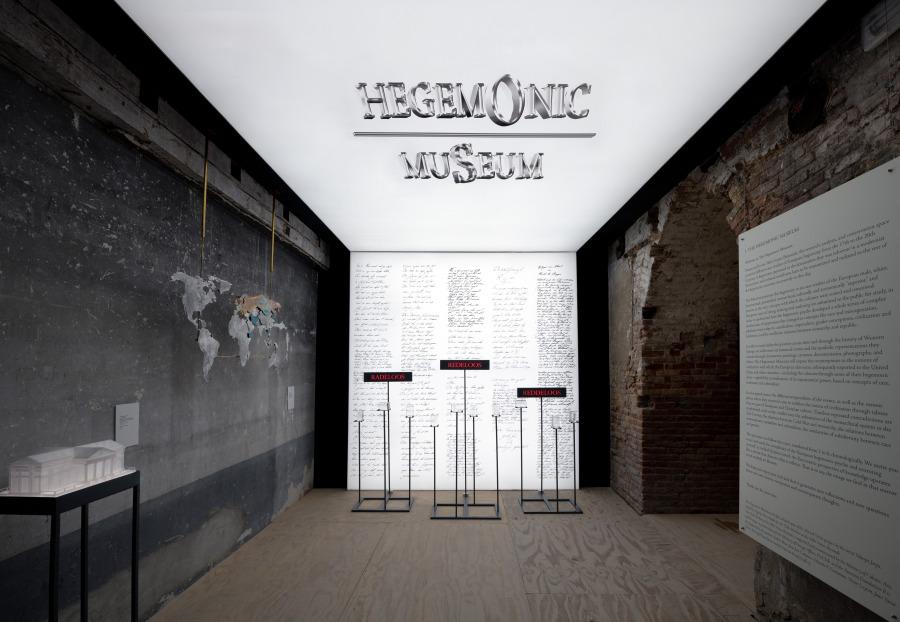 Voluspa Jarpa, El Museo Hegemónico, Miradas Alteradas. Pabellón de Chile, 58ª Bienal de Venecia, 2019. Foto: Felipe Lavin
