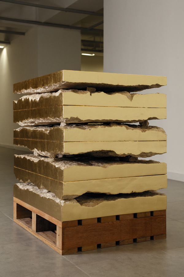 María José Argenzio, Natural técnico (2019). Vista de la instalación en la Sala Luis Miró-Quesada Garland, Lima. Cortesía de la artista