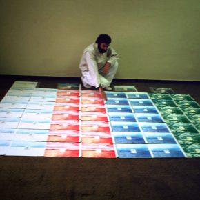 Gonzalo Mezza, N.S.E.O. de Chile, 1980, instalacion. Cortesía: D21 Proyectos de Arte, Santiago de Chile