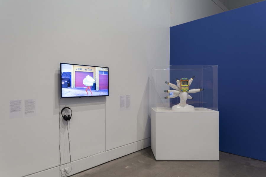 Mundos Alternos: Art and Science Fiction in the Americas. Exhibition view: Queens Museum, New York, 2019. Courtesy: Queens Museum