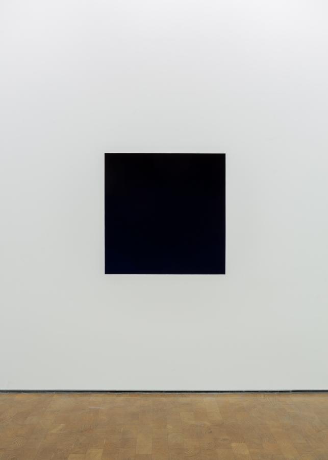 """Anish Kapoor, Void (1993). Vista de la exposición """"Surge"""" en CorpArtes, Santiago de Chile, 2019. Foto: Felipe Ugalde/Artishock"""