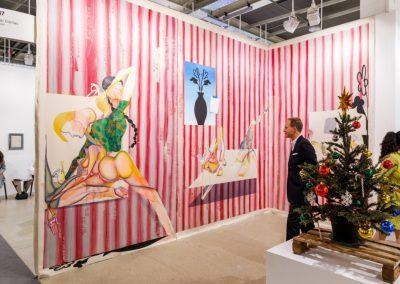 """Galería Pilar Corrias (España), en la sección """"Galleries"""" de Art Basel 2019. Foto cortesía de Art Basel"""