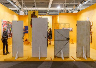 """A Gentil Carioca (Brasil) en la sección """"Galleries"""" de Art Basel 2019. Foto cortesía de Art Basel"""