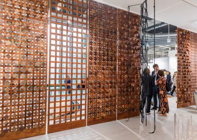 """kurimanzutto (México) en la sección """"Galleries"""" de Art Basel 2019. Foto cortesía de Art Basel"""