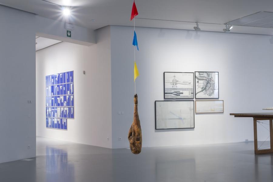 Mathieu Verhaeghe, Feestvarken, 2015-2019. Courtesy of the artist. Installation view at M HKA