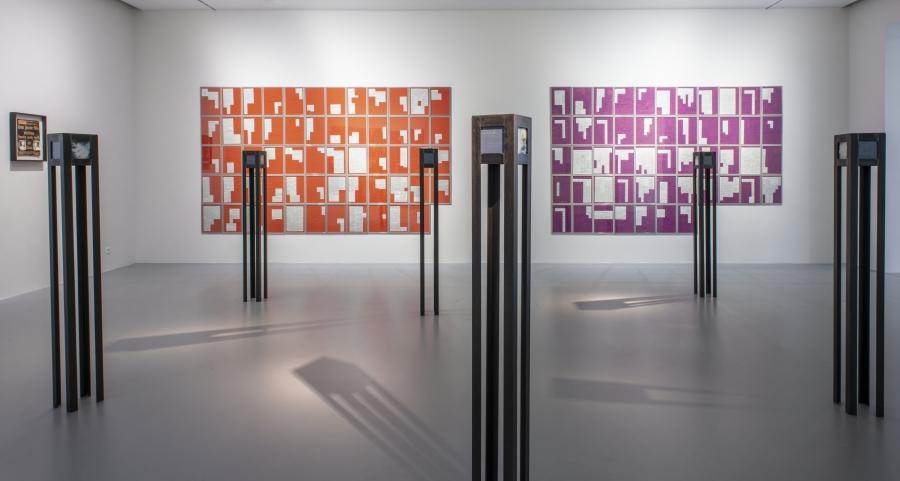 Danny Devos, Wurger van de Linkeroever 1, 1994. Collection Flemish Community. Courtesy of the artist. Installation view at M HKA