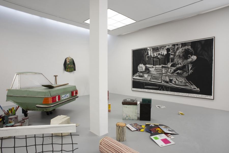 Rinus Van de Velde, Given only one life, 2019. Courtesy Tim Van Laere Gallery. Installation view at M HKA