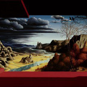 Max Gómez Canle, Ventana, 2009, óleo sobre tela. Foto: Viviana Gil