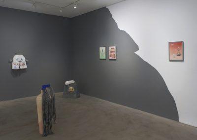 Patricia Domínguez, Green Irises, 2019. Vista de instalación. Comisionada por Gasworks. Cortesía de la artista. Foto: Andy Keate