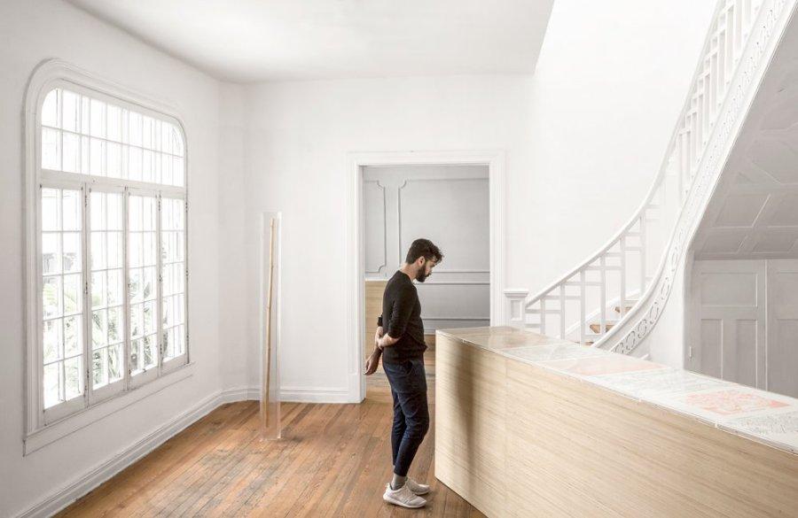 """Vista de la exposición """"Pellizcar un vidrio"""", de José Vera Matos, en Nordenhake, Ciudad de México, 2019. Foto cortesía de la galería"""