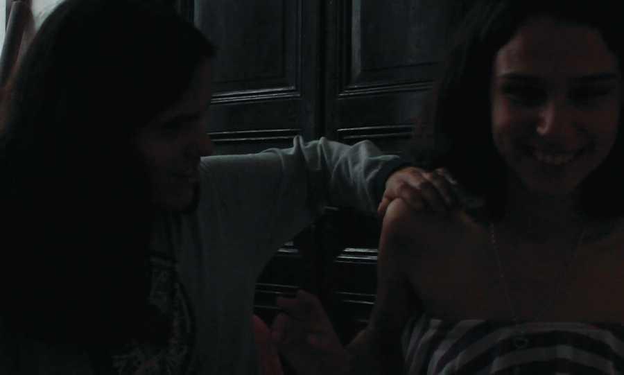 Nicole Viera y Sofía Fernández, Noviembre, 2018, Montevideo, Uruguay