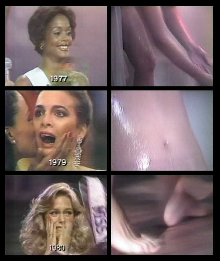 Eugènia Balcells, Going through languages, 1981, vídeo-instalación, 28' © Eugènia Balcells