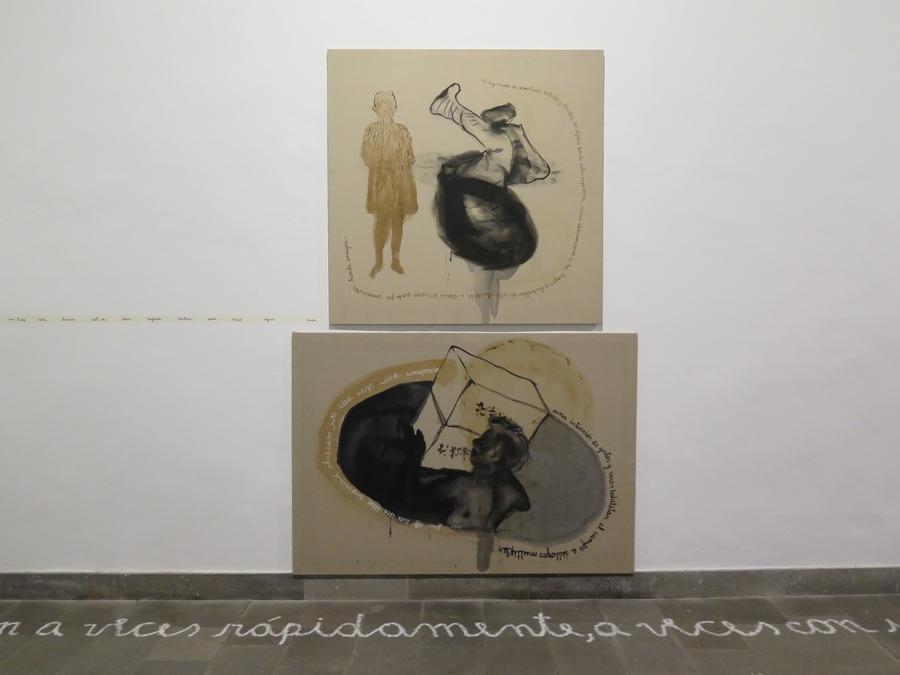 """Vista de la exposición """"De la circulación de las imágenes"""", de Juan Castillo, en la Casa de la Cultura de Santa María de Guía, Gran Canaria, España, 2019. Foto: Fundación Francis Naranjo"""