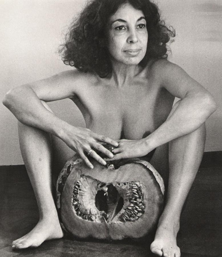 Ilse Fusková, El zapallo, 1982. Cortesía: Walden Gallery, Buenos Aires