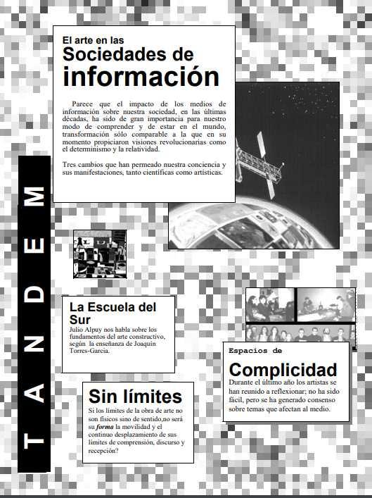 Revista Tándem # Cero (captura). Cortesía: Esfera Pública.