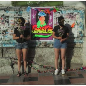 Still del docuweb sobre el colectivo fotográfico Cholita Chic. Cortesía: Colectivo Rectángulo