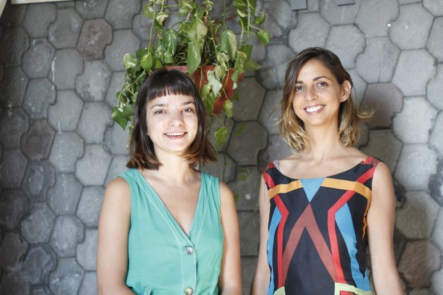 Ana Luiza Fonseca y Magui Testoni, directoras de feria Tijuana y Paraguay, respectivamente