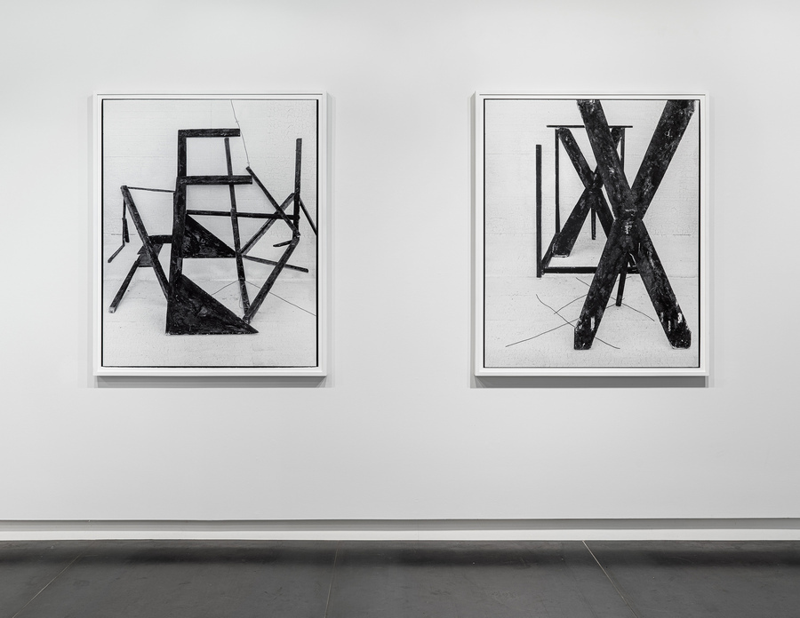 Rodrigo Valenzuela, American-type N°11 and N°6, 2018, archival pigment print, 55 x 45 inches. Edition of 3 plus 1 AP. Courtesy: Upfor