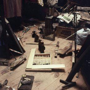 CLAUDIO BERTONI, El taller del artista, circa 1980