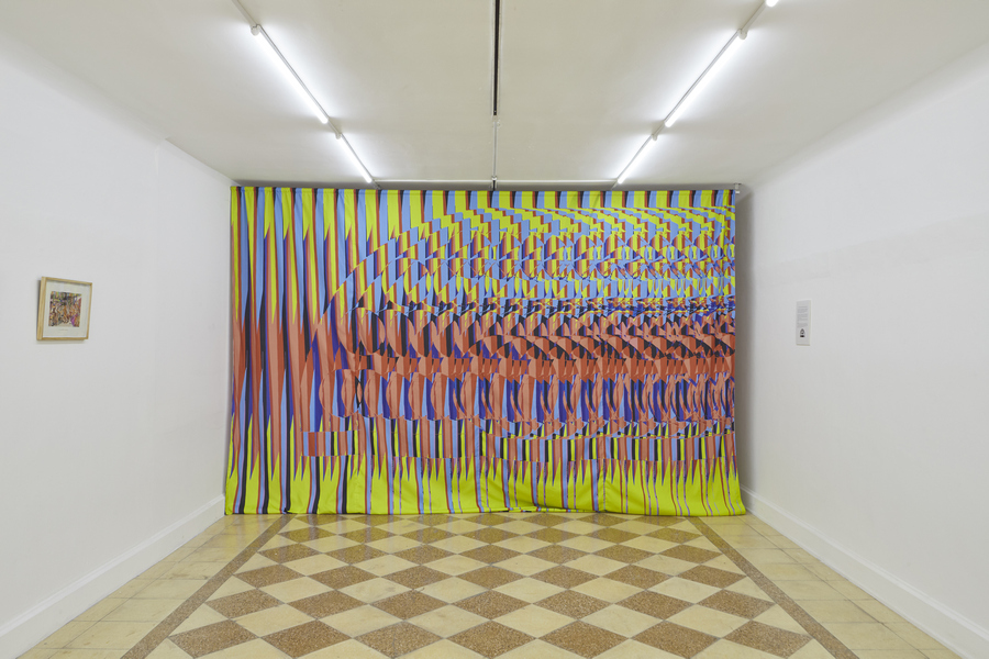 """Vista de la exposición """"Tigres Prestidigitadores"""", de Pilar Quinteros, en 80m2 Livia Benavides, Lima, 2019. Foto cortesía de la galería"""