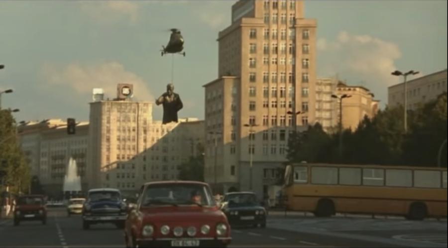 "Fotograma de la película ""Good bye Lenin"" (2003), dirigida por Wolfgang Becker"