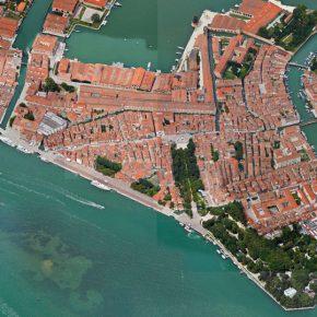Vista aérea de Venecia. Cortesía: Ministerio de las Culturas, las Artes y el Patrimonio, Chile