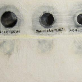 Mares II, de Luis Romero. Vista de la exposición