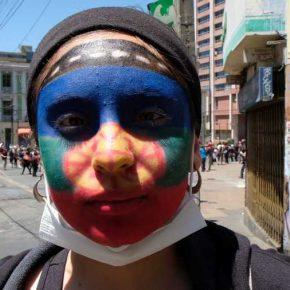 Guaico Títeres, de la comunidad mapuche urbana We Folilche de Playa Ancha. Valparaíso, Chile, 2019. Foto cortesía de Tsonami