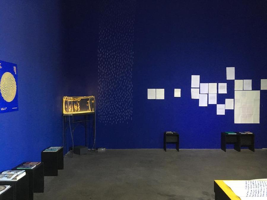 Centro de Estudios del Agua (CEA), en el Centro Cultural Matucana 100, Santiago de Chile, 2019. Cortesía: CEA