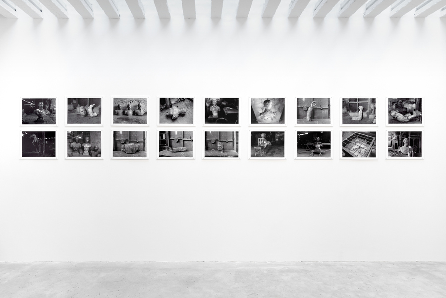Installation view 'Próceres [National Heroes]', by Paz Errázuriz, at Cecilia Brunson Projects, London, 2020. Photo courtesy of CBP