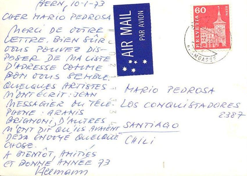 MÁRIO PEDROSA Y EL CISAC. CONFIGURACIONES AFECTIVAS, ARTÍSTICAS Y POLÍTICAS