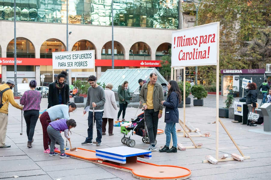 """Vista de la exposición """"Proyecto CasaMario reside en Centro de Exposiciones Subte"""", Montevideo, 2020. Foto: Saly González/Centro de Exposiciones Subte"""