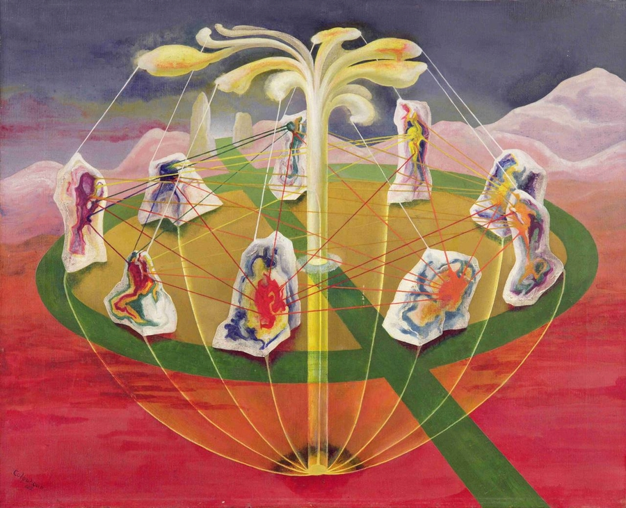 The Botanical Mind Art Mysticism And The Cosmic Tree Artishock Revista